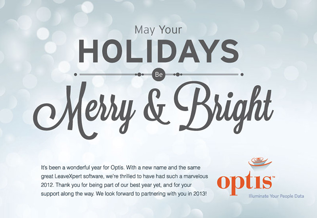 Optis Happy Holidsay