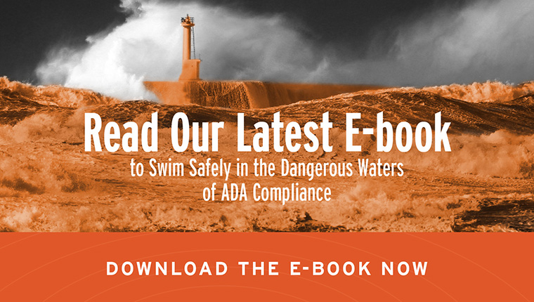 Read Our Newest E-Book to Swim Safely in the Dangerous Waters of ADA Compliance